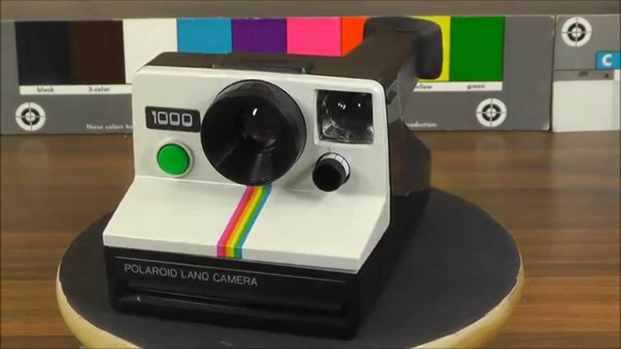 polaroid land camera 1000 green button sx 70 film youtube. Black Bedroom Furniture Sets. Home Design Ideas