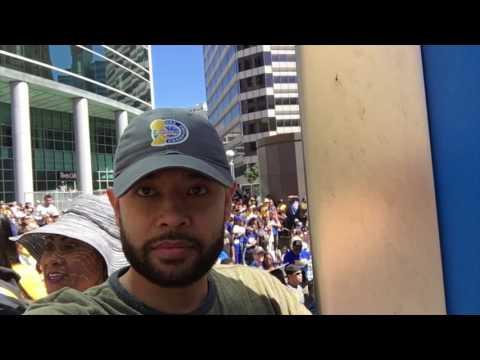 Golden State Warriors Championship Parade 2017 #DubNation