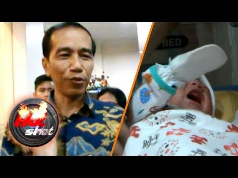 Kebahagiaan Presiden Jokowi Menyambut Cucu Pertama
