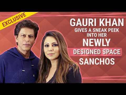 SRK is the first guest at Gauri Khan's recently designed restaurant, Sanchos