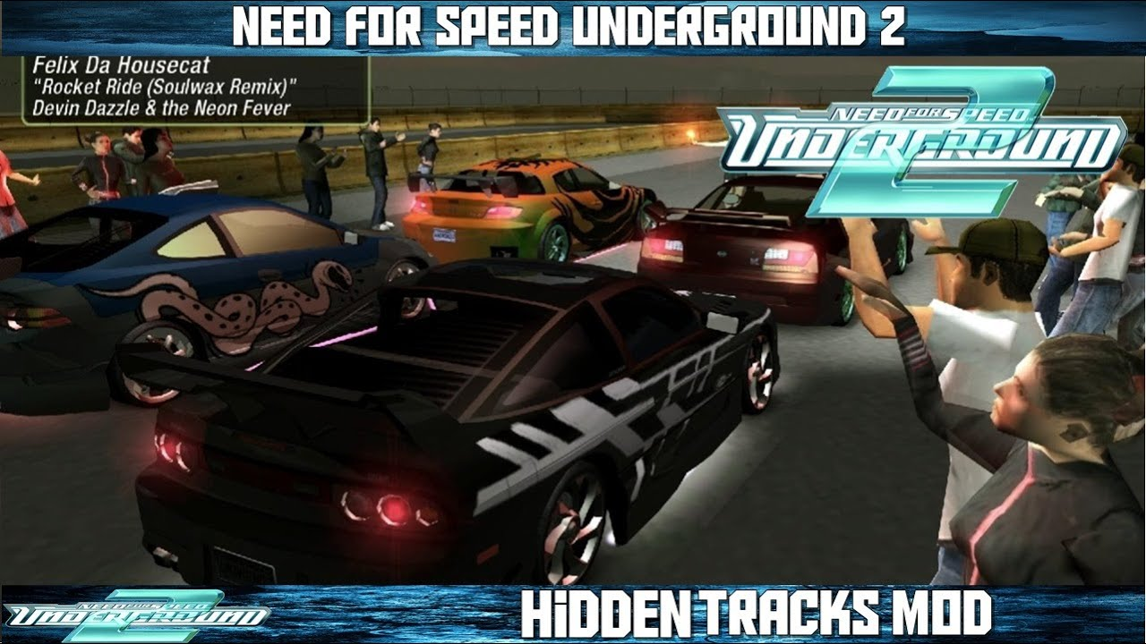 Nfs Underground 2 Hidden Tracks Mod Youtube