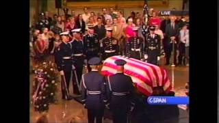 President Reagan-Lying In State 2004