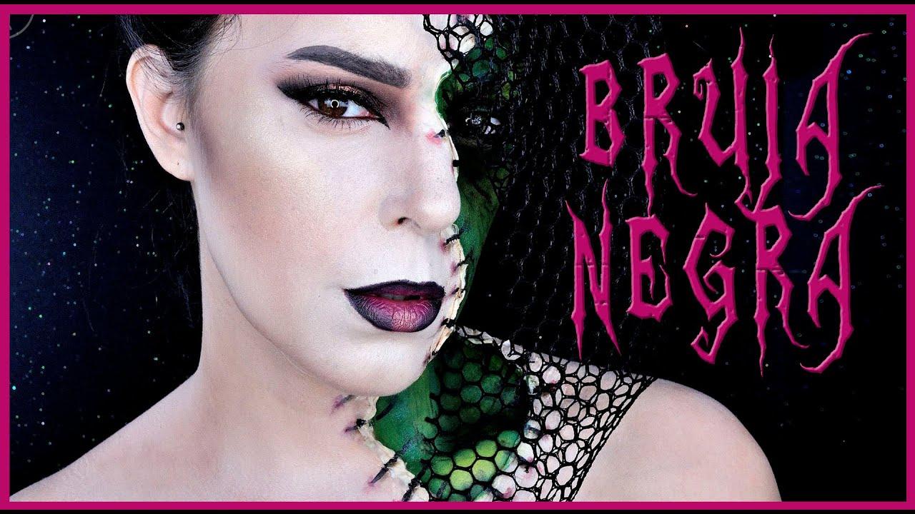 Como Maquillarse De Bruja Mala Top Trendy Interesting Maquillaje