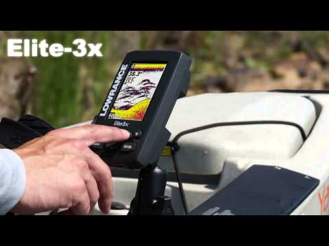 Lowrance Elite-3x Launch Video (UK)