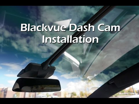 Blackvue Dash Cam - Tesla Model X Installation