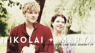 Download Nikolai + Marya [War & Peace] | It really does seem like fate, doesn't it? Mp3 and Videos