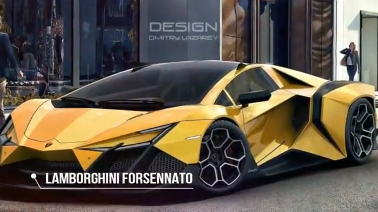Hot News The Lamborghini Forsennato Would Be A Proper Raging Bull If It Was Real Youtube