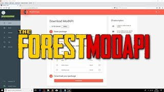 THE FOREST - COMMENT INSTALLER MODAPI ! TUTO FR