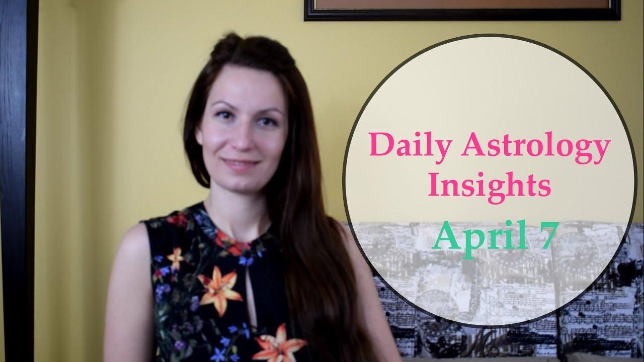 Daily Horoscope: April 7   Venus trine Saturn