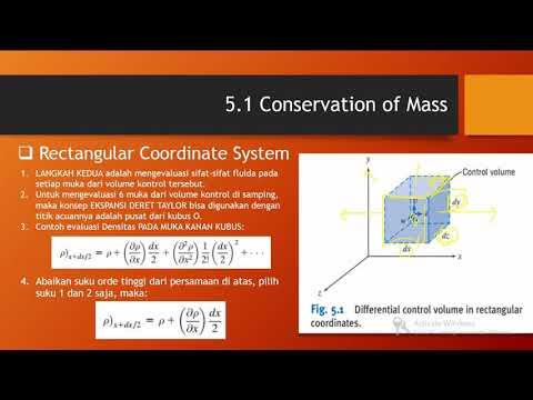 Bagian 3 Analisis Diferensial Gerak Fluida - YouTube