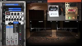 Two Notes Torpedo CAB M demo (Le Crunch direct recording, IR loader, cabsim)