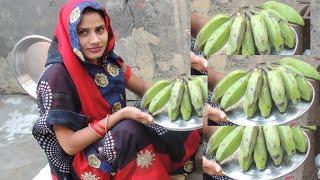ऐसे बनाएं कच्चे केले की सब्जी सिर्फ 10 मिनिट में तैयार ,Kaiche Kaise ki Sabji ,Indian cooking