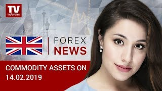InstaForex tv news: 14.02.2019: Optimism regarding US-China negotiations influences oil market (BRENT, WTI, USD/RUB)