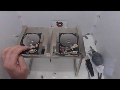 Seagate ST1000LM014 Head Swap - Affordable Clean Room Data Recovery by $300 Data Recovery