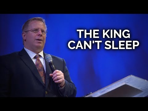 The King Can't Sleep – Pastor Raymond Woodward