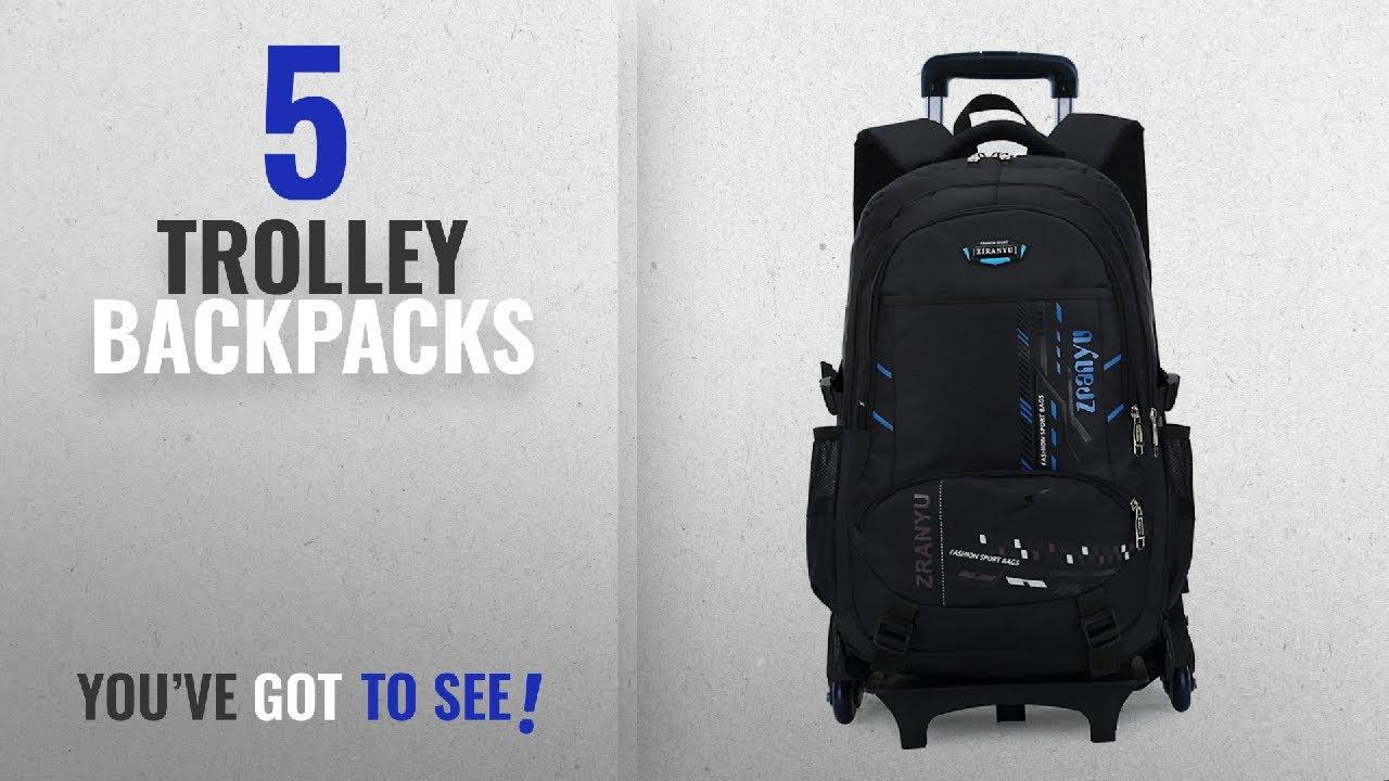 Top 10 Trolley Backpacks  2018 Best Sellers   Belify Meetbelify Trolley  School Bags Backpack for cd9b264be2984