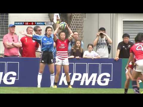 Hong Kong vs Belgium - World Rugby Women's Sevens Series Qualifiers