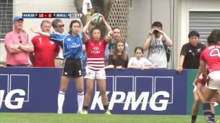 Hong Kong vs Belgium - World Rugby Women's Sevens Series Qualifiers
