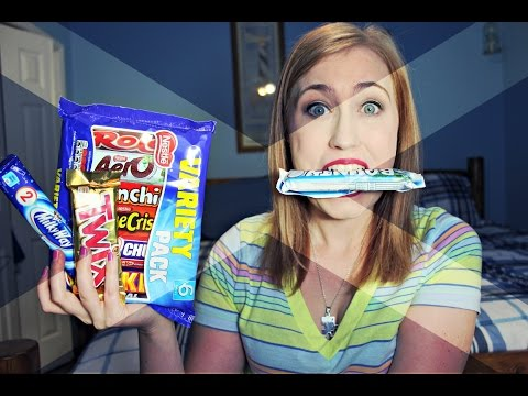 AMERICAN TRIES SCOTTISH CANDY!
