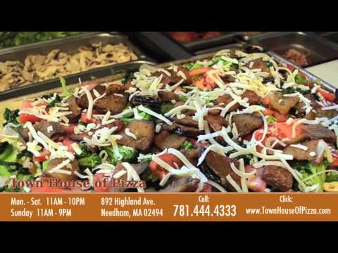 Pizza, Subs, Pasta, Salads in Needham MA - Town House of Pizza