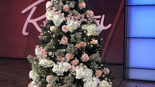How to Decorate Your Christmas Tree with Real Flowers