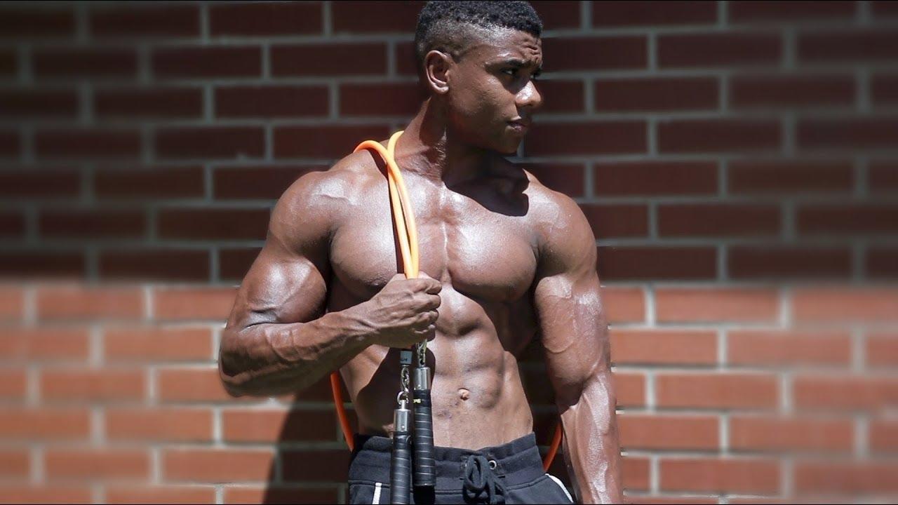 Full Upper-Body Bodyweight Workout - UNCUT - YouTube