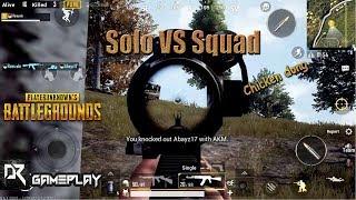 PUBG Mobile 8 kill - Perdana solo vs squad