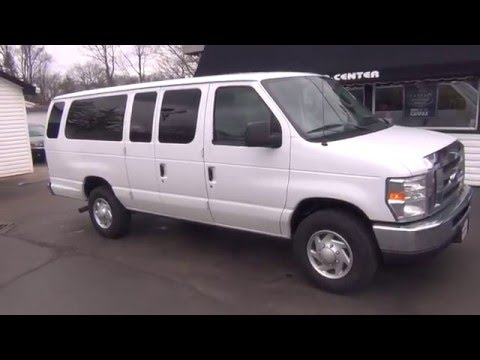 0cad8bb232 HD VIDEO 2012 FORD E350 12 PASSENGER VAN USED FOR SALE SEE WWW ...