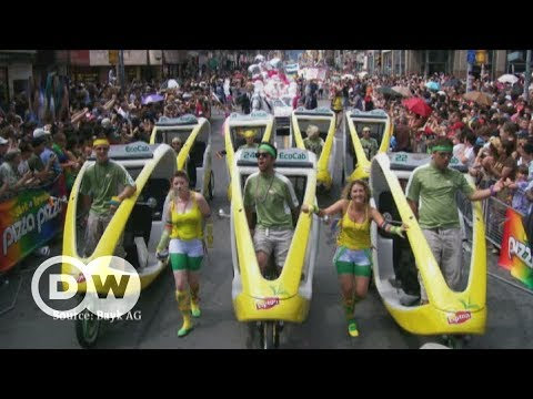 Bike taxis: Clean, green and now in Germany | DW English Mp3