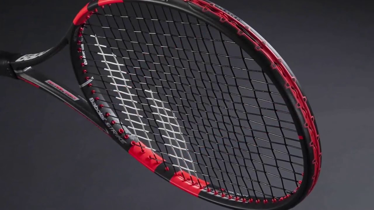 aa51ac012 Raquete de Tênis Babolat Pure Strike - YouTube