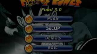 Dragon ball Z: Bid For Power 3.0 FINAL