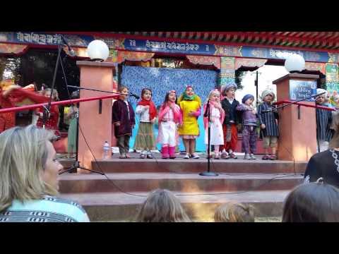 Remi as Madhavananda.  Tara Redwood School play