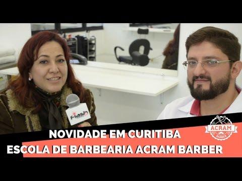 Novidade em Curitiba Escola de Barbearia Acram Barber | Flash Curitiba