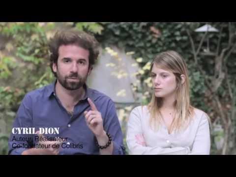 Mélanie Laurent et Cyril Dion  Film Demain
