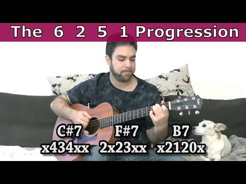 Guitar Lesson: What Is the 6-2-5-1 Chord Progression? (Hint: It's A Turnaround!)