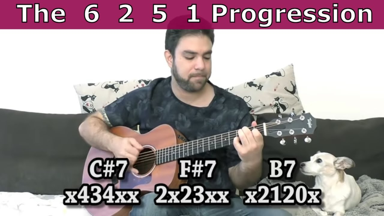 Guitar Lesson What Is The 6 2 5 1 Chord Progression Hint Its A