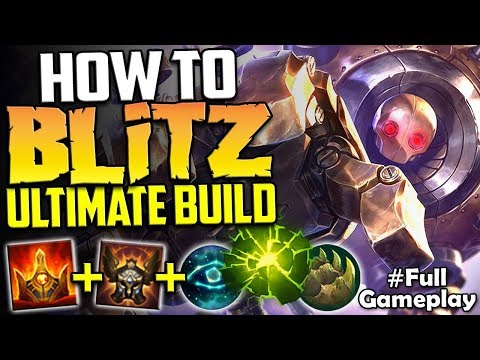 How To Blitz The Ultimate Blitzcrank Build Blitzcrank Vs Morgana Sup Season 8 Ranked Gameplay Youtube