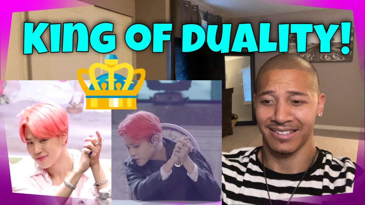 Reacting to Park Jimin KING OF DUALITY!! 👑🎭