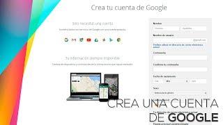 Cómo Crear Una Cuenta De Gmail Nueva E Iniciar SesiÓn