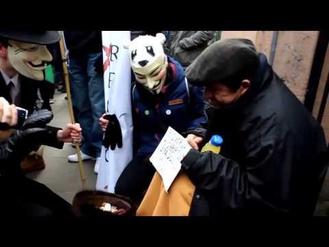 Anonymous Helping Poor men