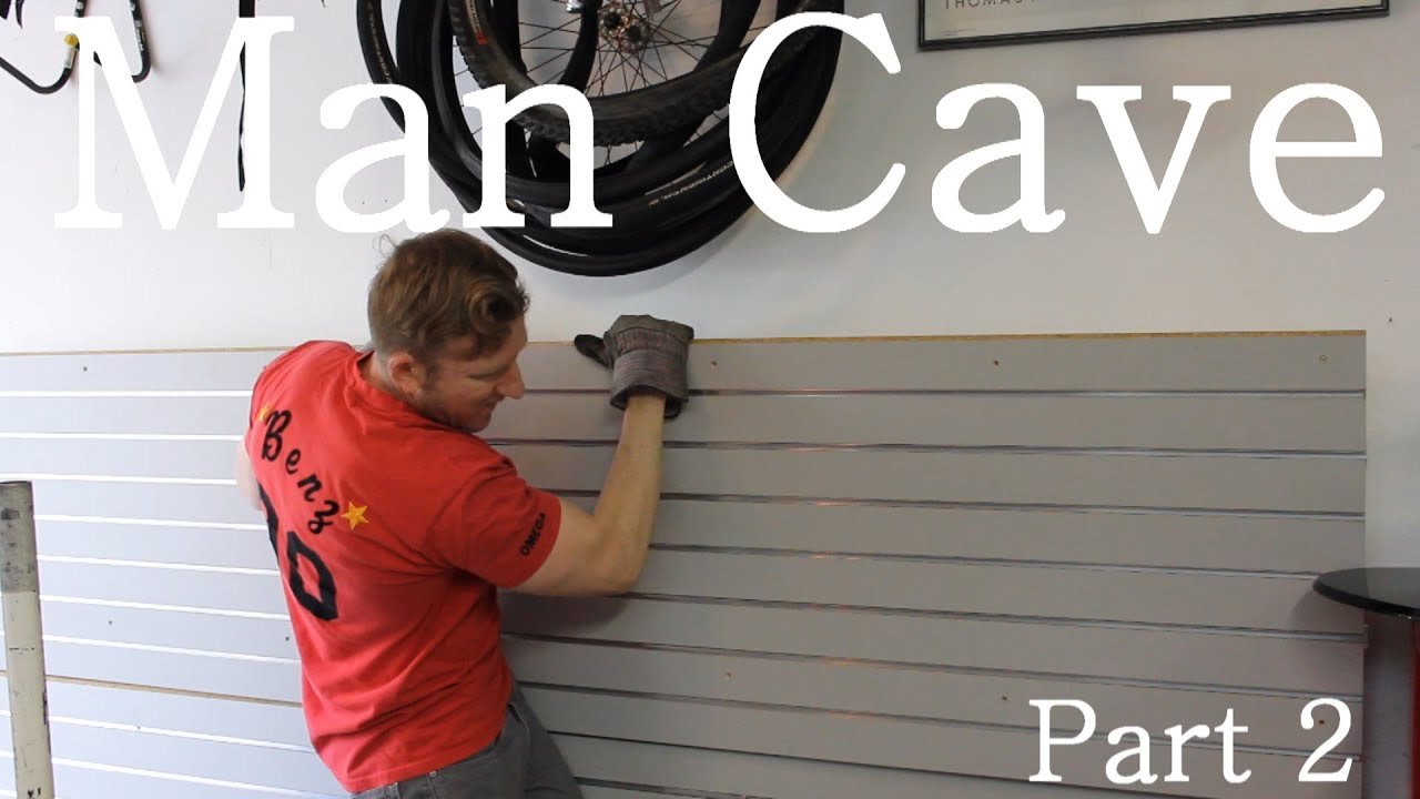 Building The Ultimate Garage Man Cave Part 2 Youtube