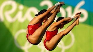 Rio olympics 2016 : CHINA'S CHEN RUOLIN AND LIU HUIXIA CLAIMED GOLD MEDAL I