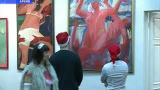 Юбилей отмечает одна из самых именитых художниц Ярославля - Елена Мухина
