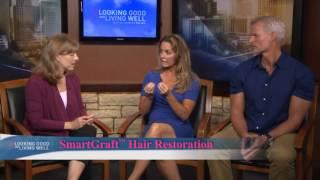 smartgraft hair transplantation on kvue with dr jennifer walden