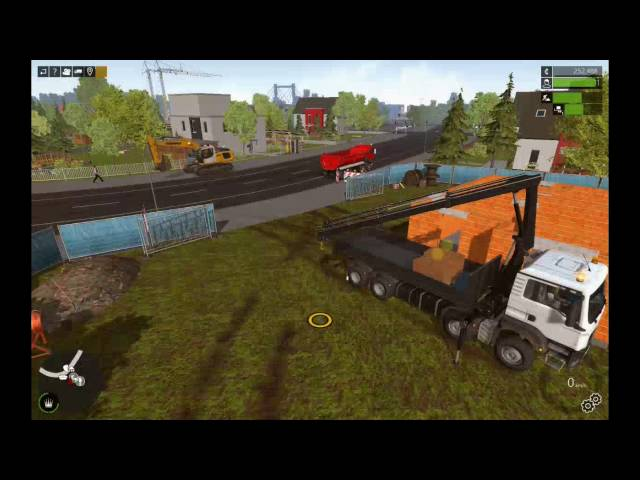Let's Play Bau-Simulator 2015   Einfamilienhaus mit Unfällen   Folge #014
