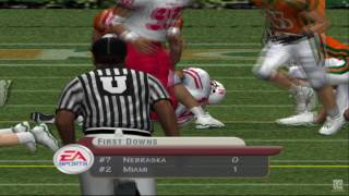 NCAA Football 2002 PS2 Gameplay HD