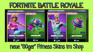 "THE NEW ""80ger"" FITNESS SKINS IN SHOP 