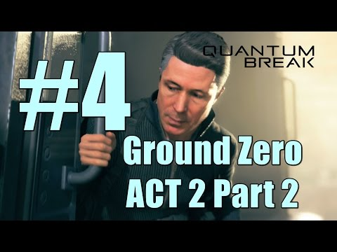 Quantum Break Ground Zero ACT 2 Part 2 - Get To Serene at the Drydocks Walkthrough