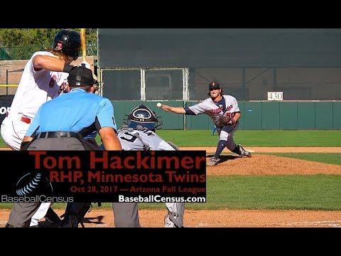Tom Hackimer, RHP, Minnesota Twins — October 27, 2017 (AFL)