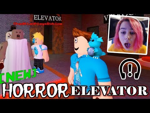 Roblox HORROR ELEVATOR With GAMER CHAD & MicroGuardian!